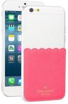 Kate Spade Scallop Leather Stick-On Smartphone Case Pocket - Black