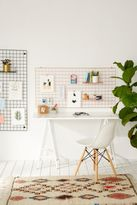 Urban Outfitters Wire Wall Rectangle Grid