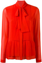 MICHAEL Michael Kors pleated shirt