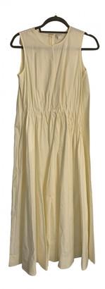Cos Yellow Cotton Dresses