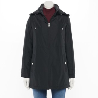 Details Women's Radiance Hooded Water-Resistant Jacket