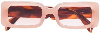 KALEOS Barbarella 5 rectangular-frame sunglasses