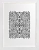 Minted Chaotic Pattern Art Print