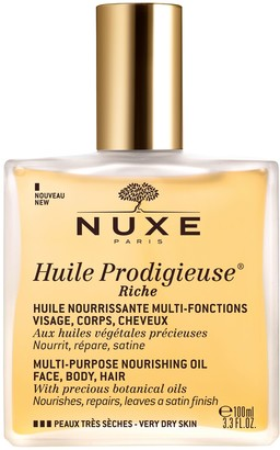 Nuxe Huile Prodigieuse Riche Multi-Purpose Nourishing Oil Spray Bottle, 100ml