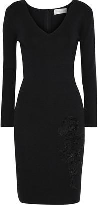 Sachin + Babi Violette Sequin-embellished Stretch-knit Dress