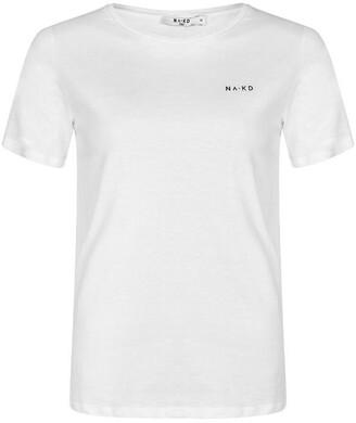 NA-KD Basic Logo T-Shirt