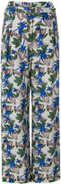 Christian Wijnants floral straight leg trousers