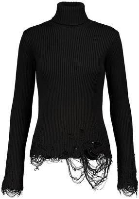 Balenciaga Stretch-wool sweater
