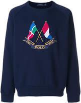Polo Ralph Lauren nautical motif sweatshirt