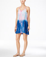 Raviya Tie-Dyed Ombré Racerback Cover-Up