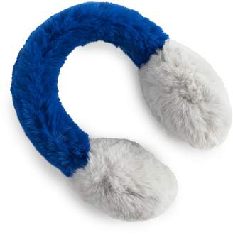 Sam Edelman Women's Faux Fur Colorblock Earmuff
