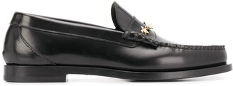 Jimmy Choo Mocca leather loafers