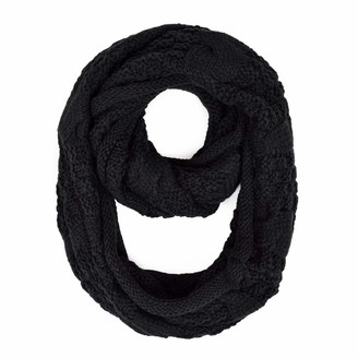 Trendsblue Premium Winter Thick Infinity Twist Cable Knit Scarf