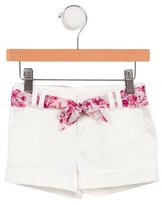 Gucci Girls' Belted Shorts w/ Tags
