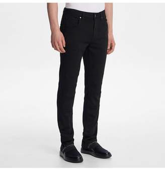 Karl Lagerfeld Paris Men Slim Fit Moto Jeans
