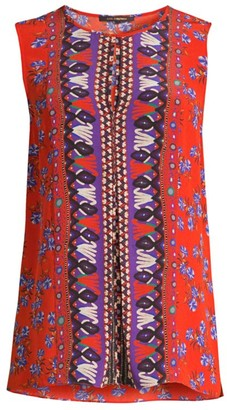 Kobi Halperin Lorina Printed Silk Blouse