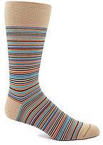 Johnston & Murphy Mini-Stripe Sock