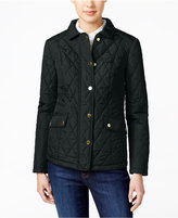 Charter Club Quilted Water-Resistant Jacket, Only at Macy's