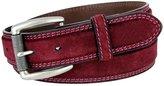 "Belts Fullerton Full Grain Suede Casual Jeans Leather Belt 1-3/8""=35mm 351000-P4252-LANR"