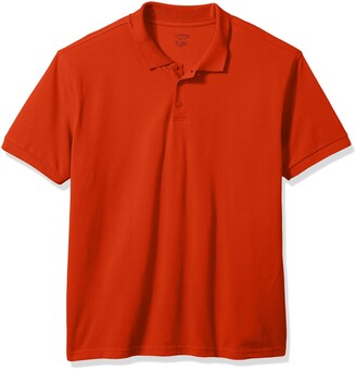Classroom Men's Adult Unisex Short Sleeve Pique Polo