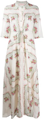 Tory Burch Floral-Print Shirt Dress