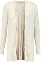 Diane von Furstenberg Bari cable-knit silk and cashmere-blend cardigan