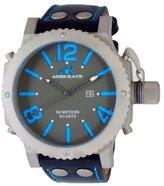 Adee Kaye Men's AK7211-MT Analog Display Japanese Quartz Black Watch