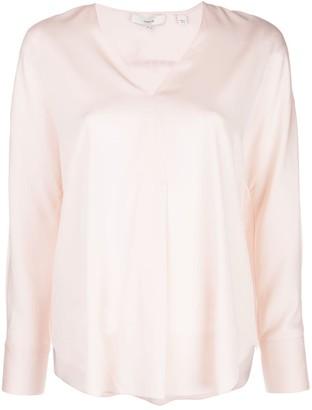 Vince V-neck boxy blouse