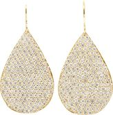 Irene Neuwirth Diamond Collection Pear-Shaped Drop Earrings-Colorless