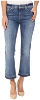 7 For All Mankind Cropped Bootcut w/ Released Hem in Chelsea Lights