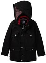 Urban Republic Mixed Media Wool Military Jacket (Big Boys)