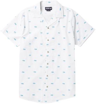 Trunks Surf And Swim Co. Crab Print Short Sleeve Shirt