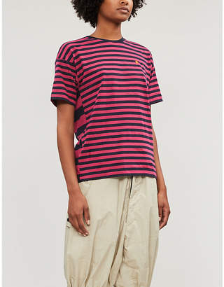 Carhartt Wip Barkley striped oversized cotton-jersey T-shirt