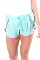 All For Color Turquoise Pom Shorts