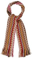 Missoni Fringed Chevron Scarf