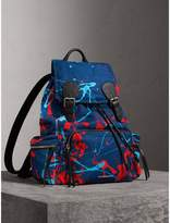 Burberry The Large Rucksack In Splash Print