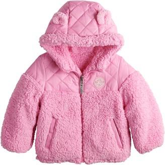 ZeroXposur Toddler Girl Midweight Reversible Jacket