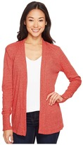 MICHAEL Michael Kors Rib Snap Sleeve Open Cardi Women's Sweater