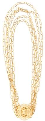 Timeless Pearly - Layered Gold-plated Chain Choker - Womens - Gold