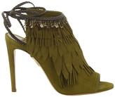Aquazzura Pocahontas Tassel Sandals