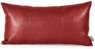 Avanti Howard Elliott Kidney Pillow, Apple Burgundy, Polyester Insert