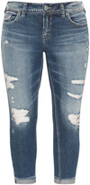 Silver Jeans Plus Size Distressed effect skinny jeans