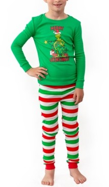 Matching Boys The Grinch Two Piece Pajamas, Online Only