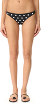 Mara Hoffman Embroidered Low Rise Bottoms