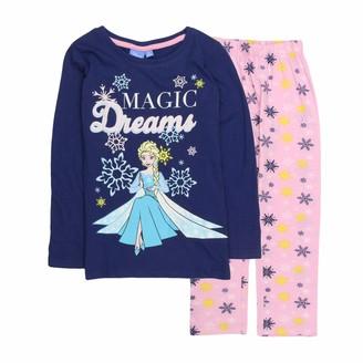 Disney Girls Pyjama Set - 5 Years - Grey