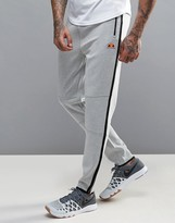 Ellesse Sport Skinny Joggers With Taping