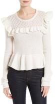 Rebecca Taylor Women's Ruffle Sweater