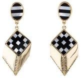 Lulu Frost Mosaic Arrow Drop Earrings