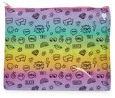 Capelli New York Rainbow Emoji Pouch