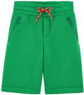 Fendi Embroidered neoprene sportswear shorts